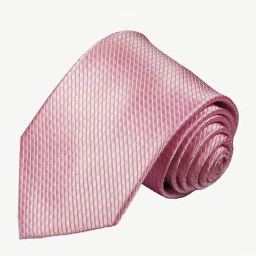 Solid Pink Microchecked Silk Necktie #ties #mensties #tiesformen #suitaccessories