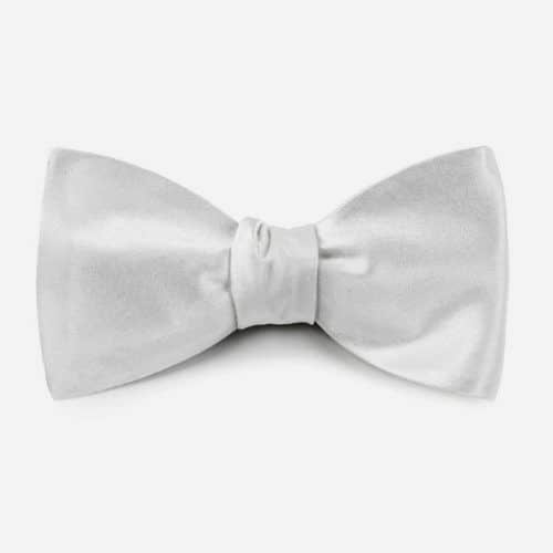 Solid Satin Bow Tie #ties #mensties #tiesformen #suitaccessories