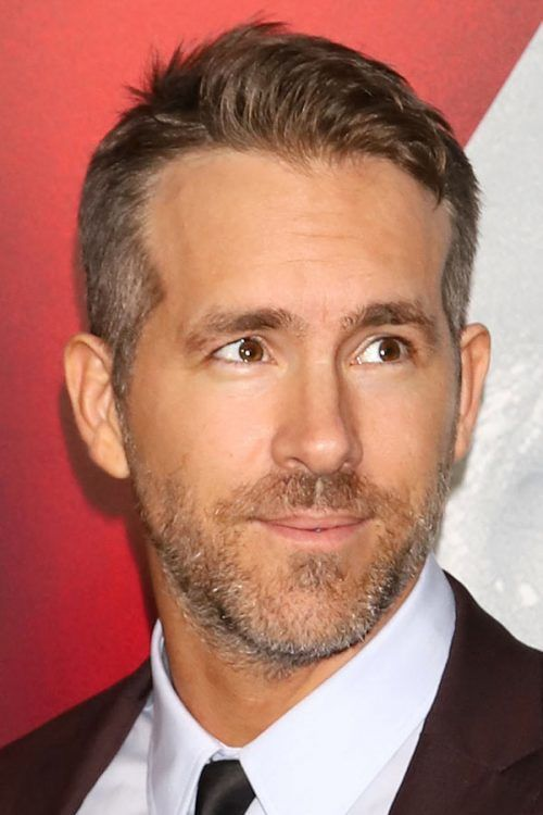 Ryan Reynolds Haircut 2018 #ryanreynolds #shorthairmen