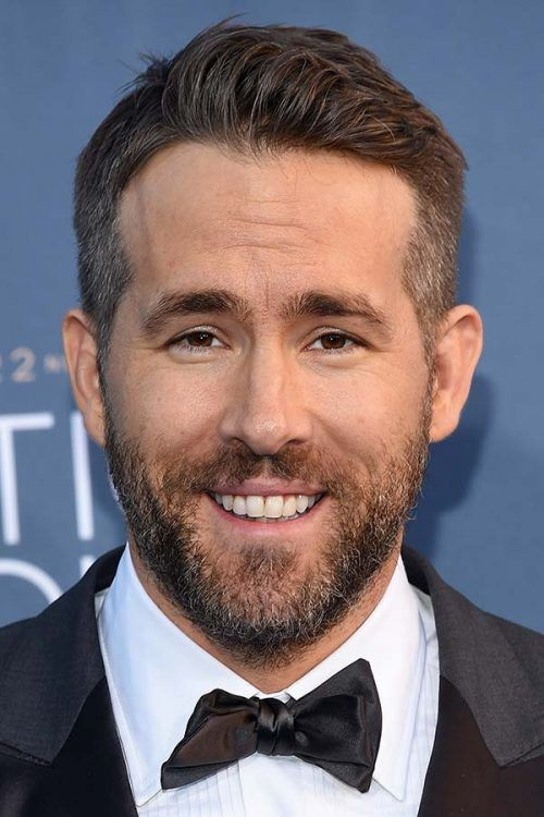 Deadpool Style #ryanreynolds #shorthairmen