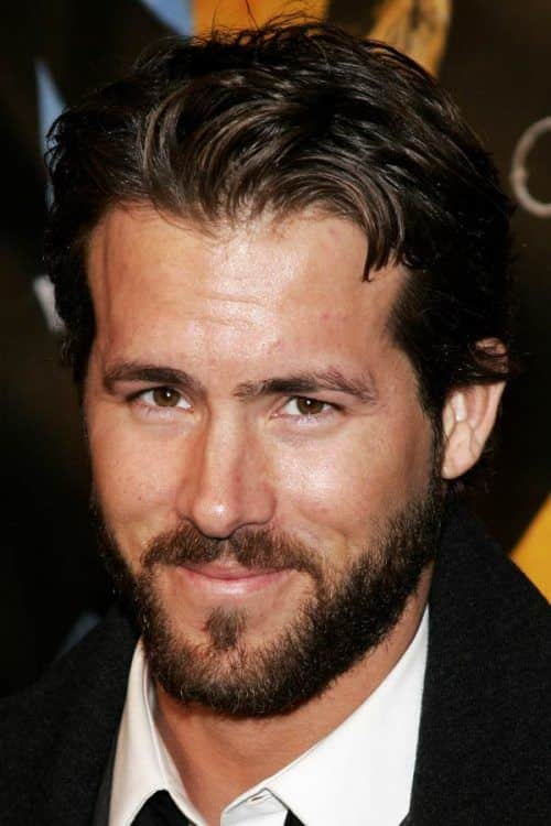 Medium Length Style #ryanreynolds #mediumhairmen #beard