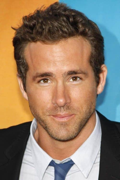 Soft Waves #curlyhairmen #ryanreynolds #shorthairmen