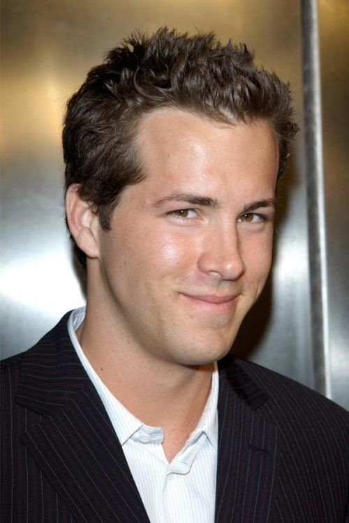 Short Spikes #ryanreynolds #menhaircuts