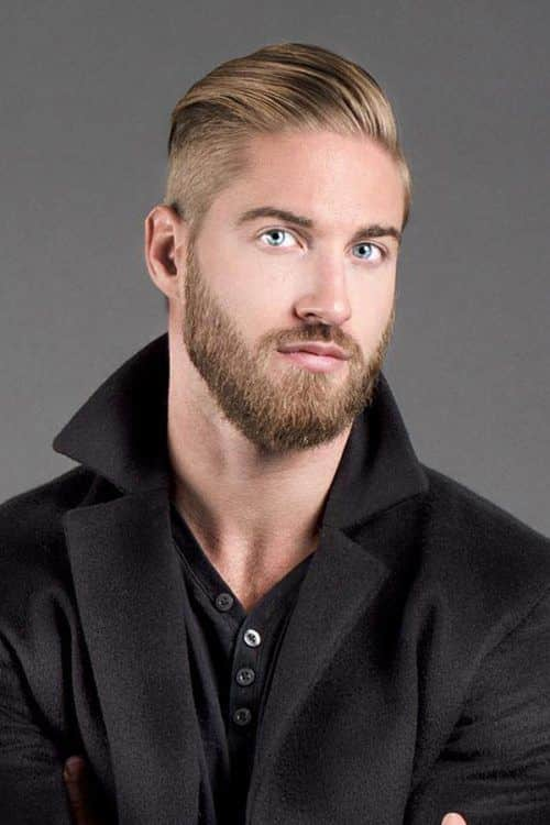 How To Get Slicked Back Undercut #slickedbackundercut #beard #shorthaircuts #menshaircuts #undercut