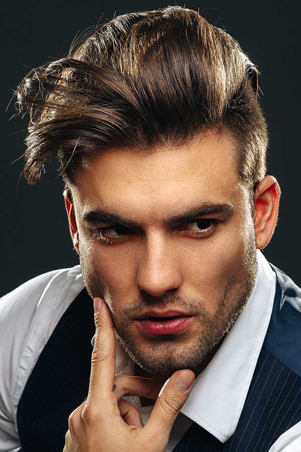 How To Cut The Slicked Back Undercut #undercut #slickedbackundercut