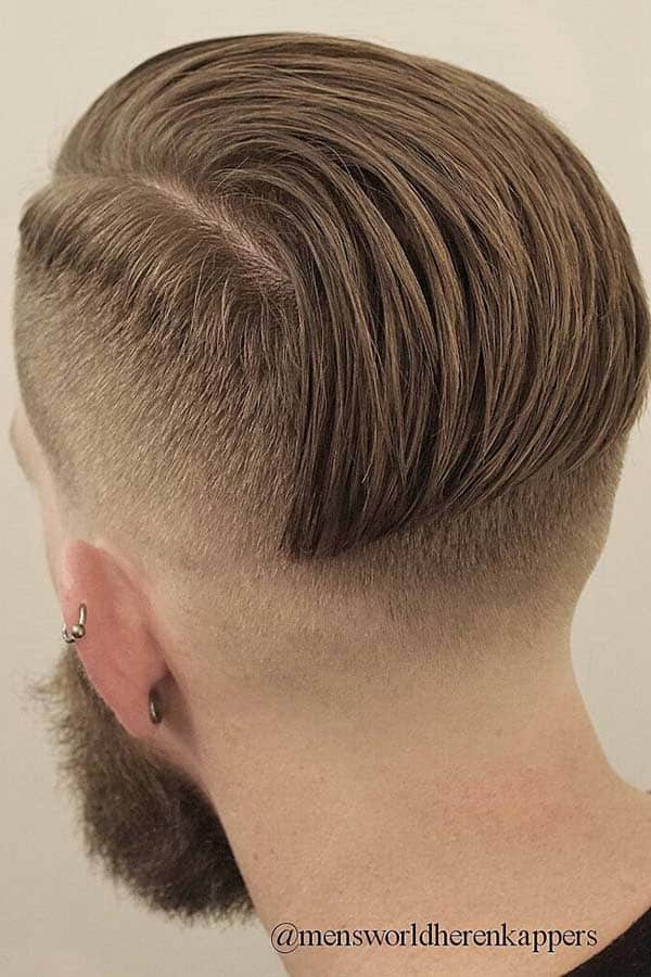 How To Style Slicked Back Hair #slickedbackundercut #beard #shorthaircuts #menshaircuts #undercut