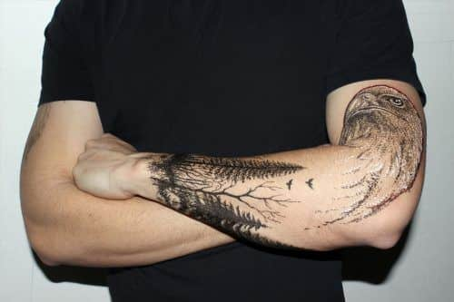 Bird Tattoo #tattoo #mentattoos #tattoosformen