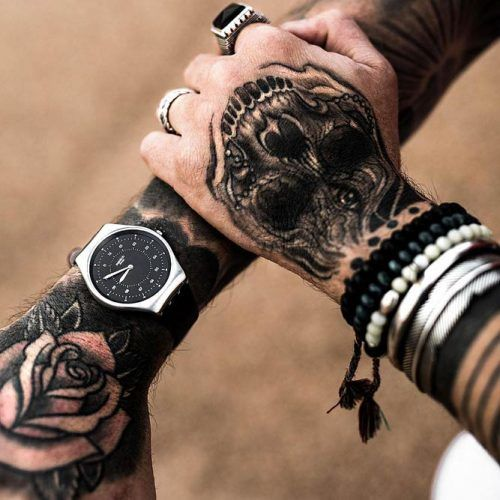 Does A Tattoo Make You More Attractive? #tattoo #tattoos #skulltattoo #handtattoo
