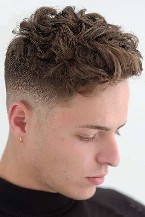 Haircuts For Wavy Hair Men
