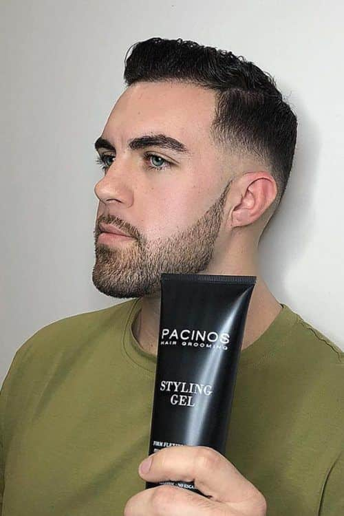 Gel #hairproducts #pomade #wax #fadehaircut #menshaircuts #pacinosgel