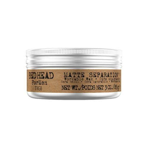 TIGI Bed Head B For Men Matte Separation Workable Wax #hairproducts #pomade #wax