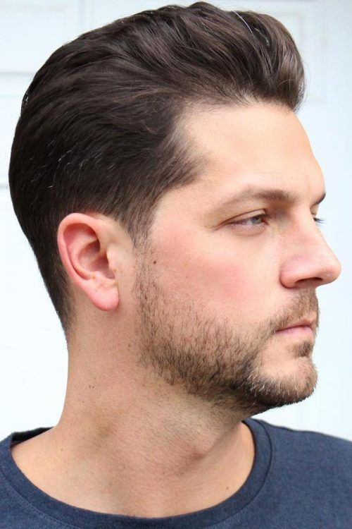 Swept Back Hairstyle #patchybeard #beardstyles
