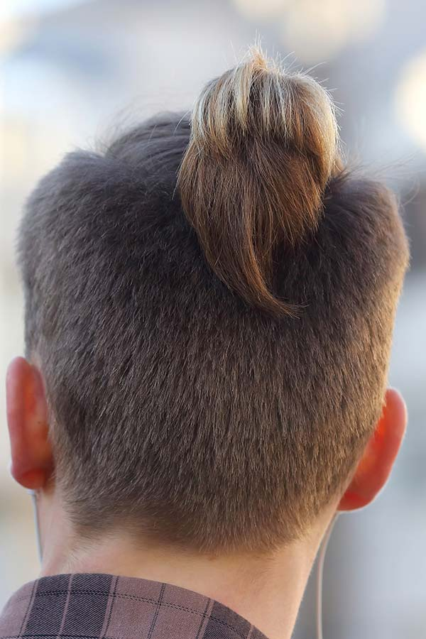 The Full Gallery Of The Most Picturesque Man Ponytail Hairstyles