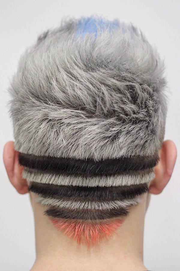 The Right Cut Makes All The Difference #silverhairmen #howtogetsilverhair #silverhaircolour #greyhair #grayhair