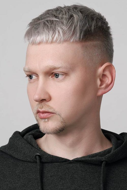 Short Sides Long Top  #silverhairmen #howtogetsilverhair #silverhaircolour #greyhair #grayhair