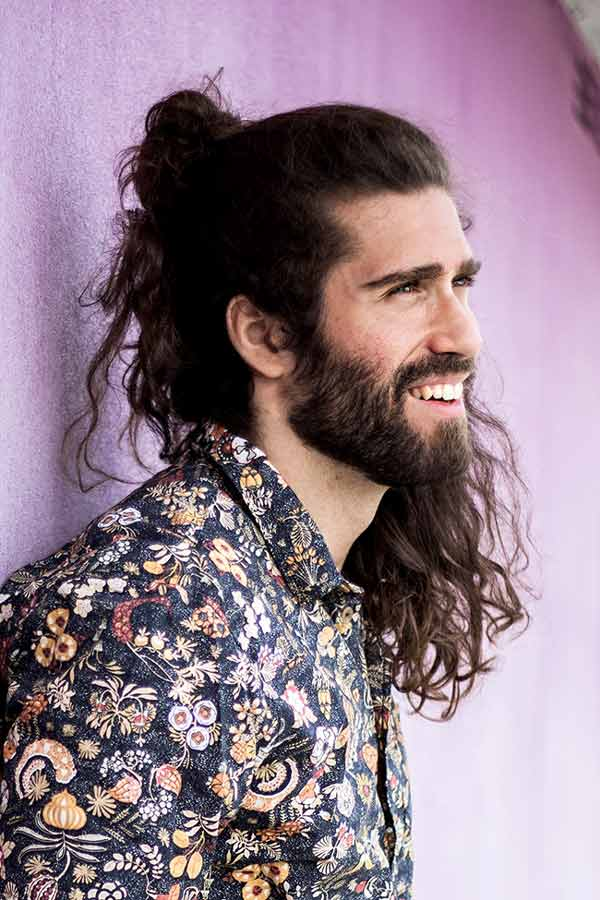How To Style The Haircut #surferhair #longhairmen #menshairstyles #beachwaves #layeredhaircut