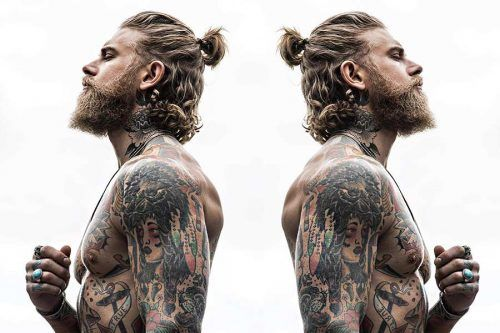 Looking For A New Hairstyle For Your Long Hair? Check Out Our Photo Gallery Of Man Ponytail Styles!