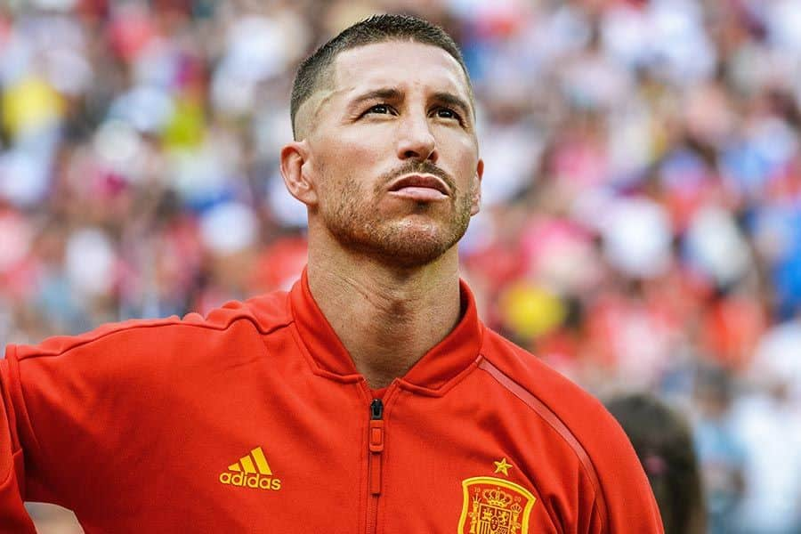 New Sergio Ramos Haircut And Other Styles Of Champion's Hair