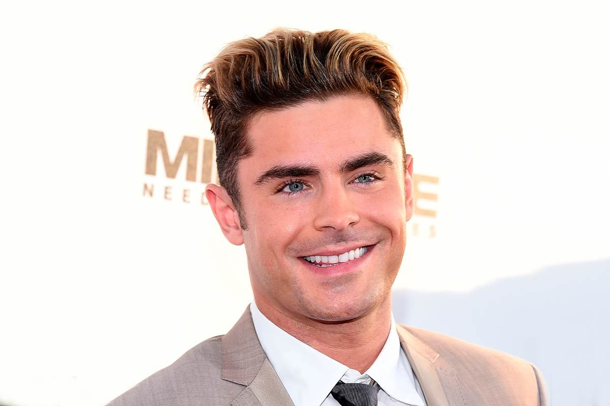 Zac Efron Haircut: Variety Of Textured Hair Styles