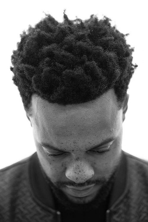 Medium SpongeCurls #afrohair #hairtype #hairtypemen