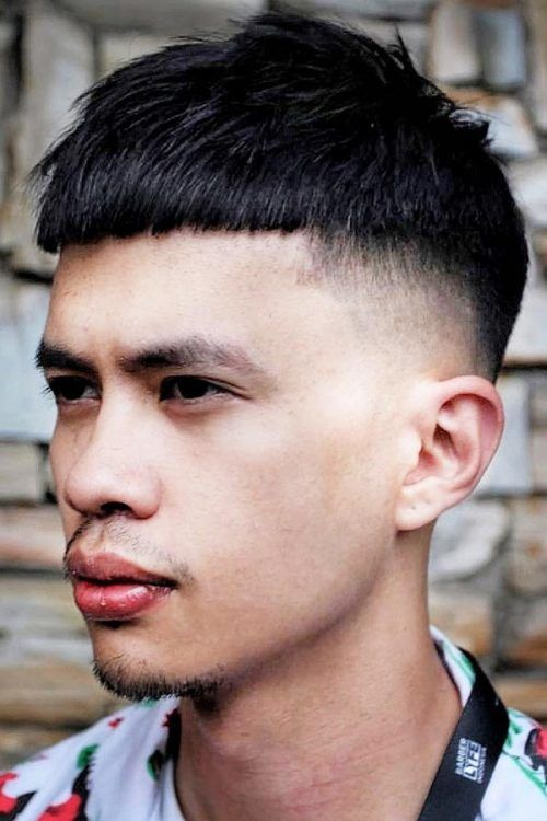 Asian Hair #asianhair #frenchcrop #hairtype #hairtypemen
