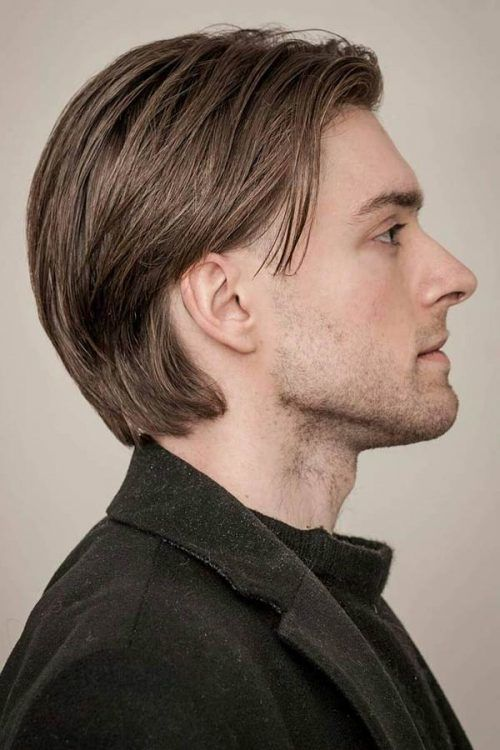 Swept Back Long Fine Hair #hairtype #hairtypemen #finehair