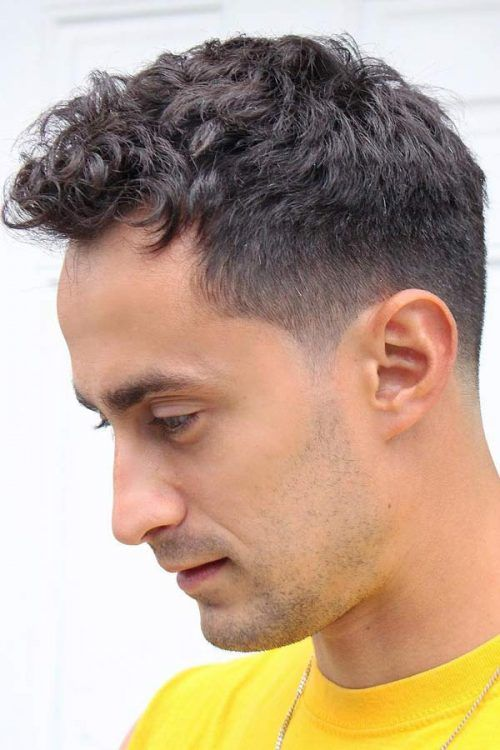 Short Curly Haircut For Thin Hair #thinhair #hairtype #hairtypemen