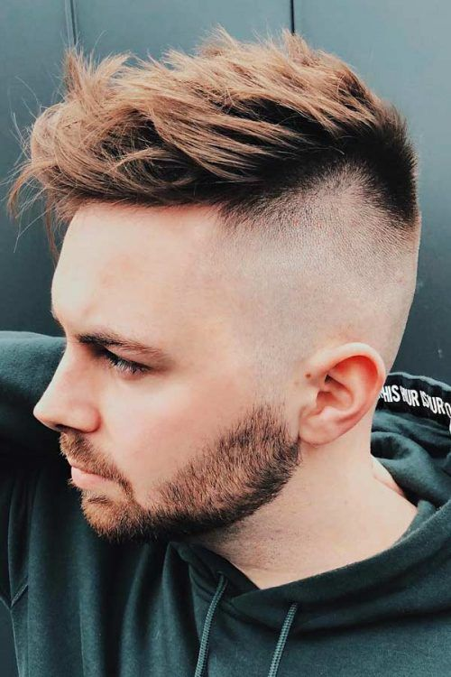 Undercut With Messy Top #hairtype #hairtypemen