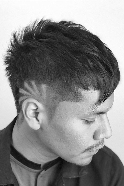 Faux Hawk #haircutdesign
