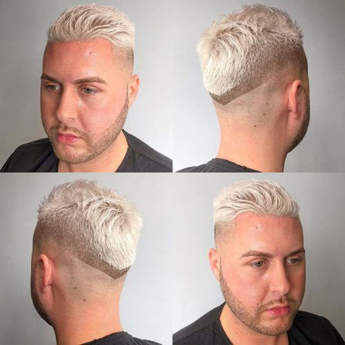 Bleached Hair #haircutdesign