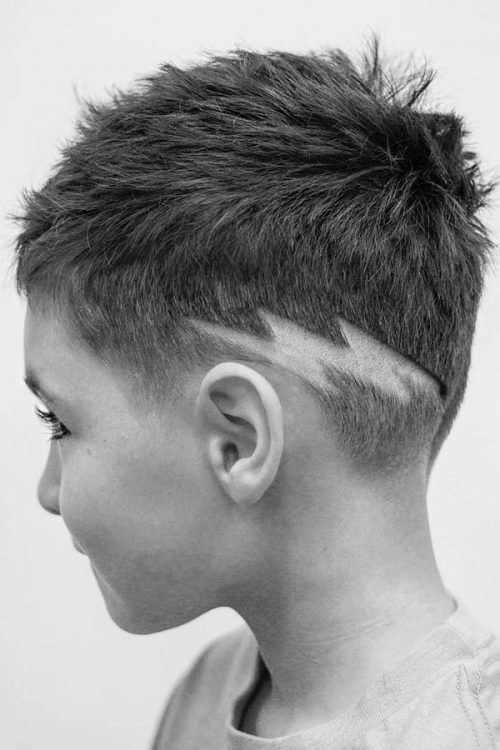 Boy Lightning #haircutdesign
