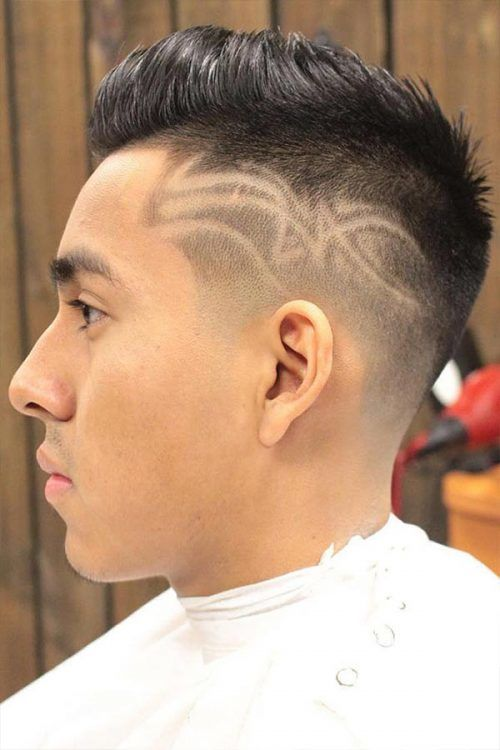 Short Spiky Cut #haircutdesign