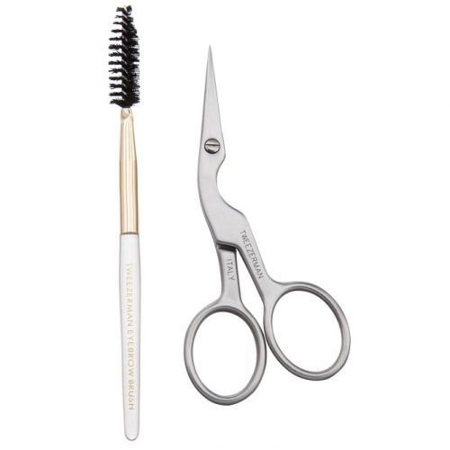Tweezerman Brow Shaping Scissors And Brush #grooming #mensgrooming