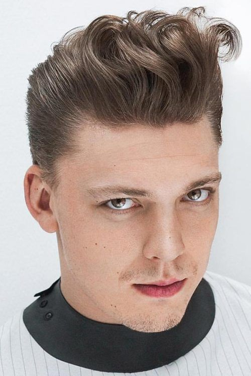 How To Style The Greaser Hair Look #rockabillyhairmen #menshairstyles