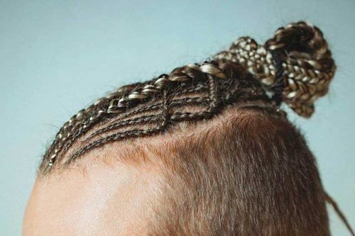 Man Bun Braids Are The Newest Trend In Men Hair Styling (Photo Gallery)