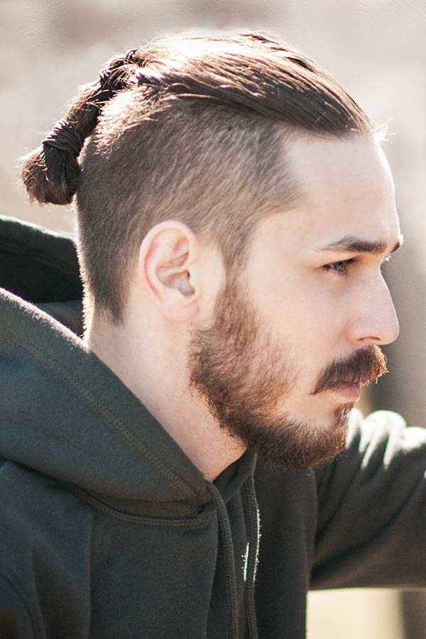 Braided Top #undercut #longhair #haircuts #menhaircuts