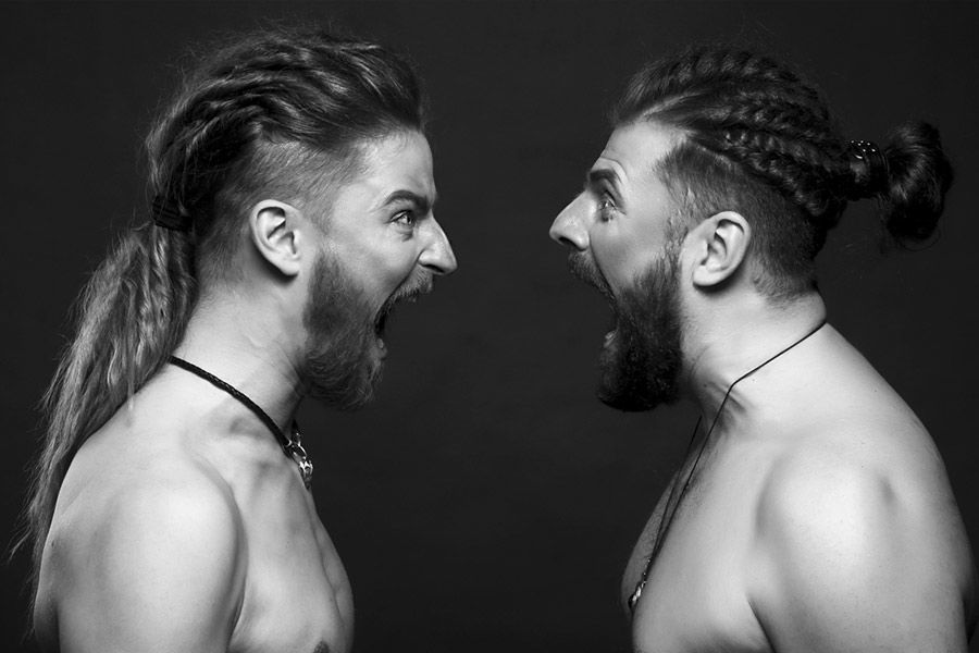 How To Achieve An Undercut Long Hair Style #undercut #longhair #haircuts #menhaircuts