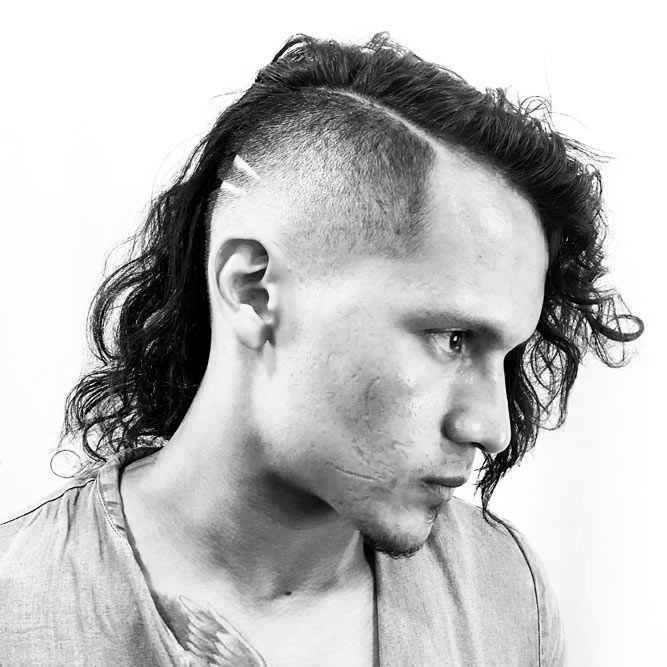 Undercut Long Hair Style #undercut #longhair #haircuts #menhaircuts
