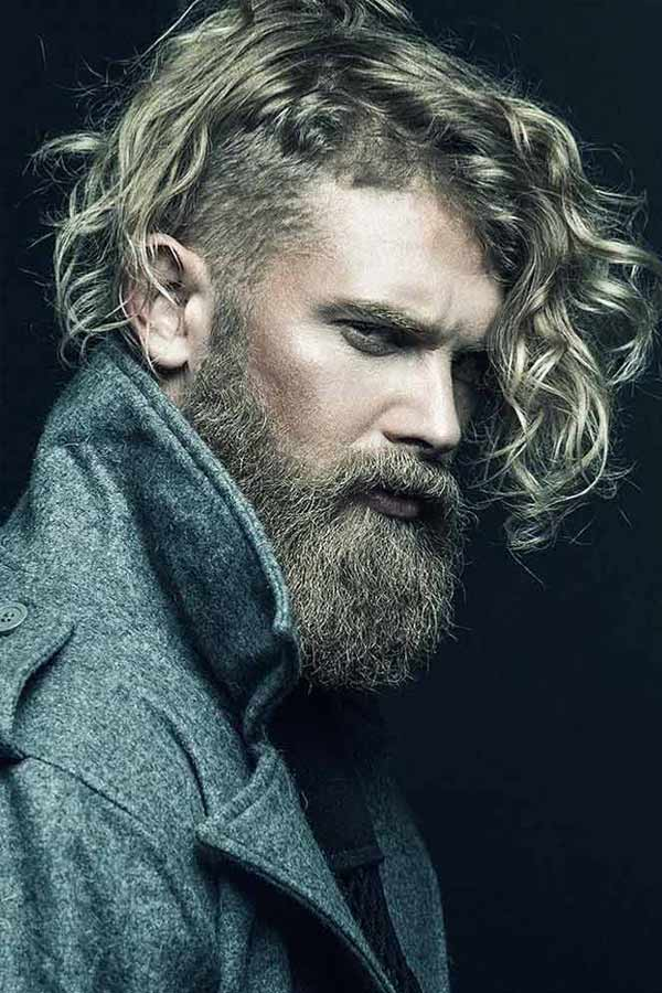 Perfect Ideas For Long Hair With An Undercut #undercut #longhair #haircuts #menhaircuts