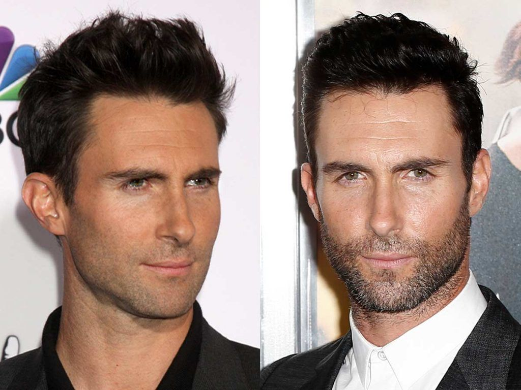 Adam Levine #facialhair #beard #beardtranformation