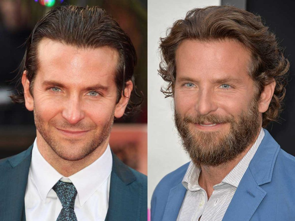 Bradley Cooper #facialhair #beard #beardtranformation