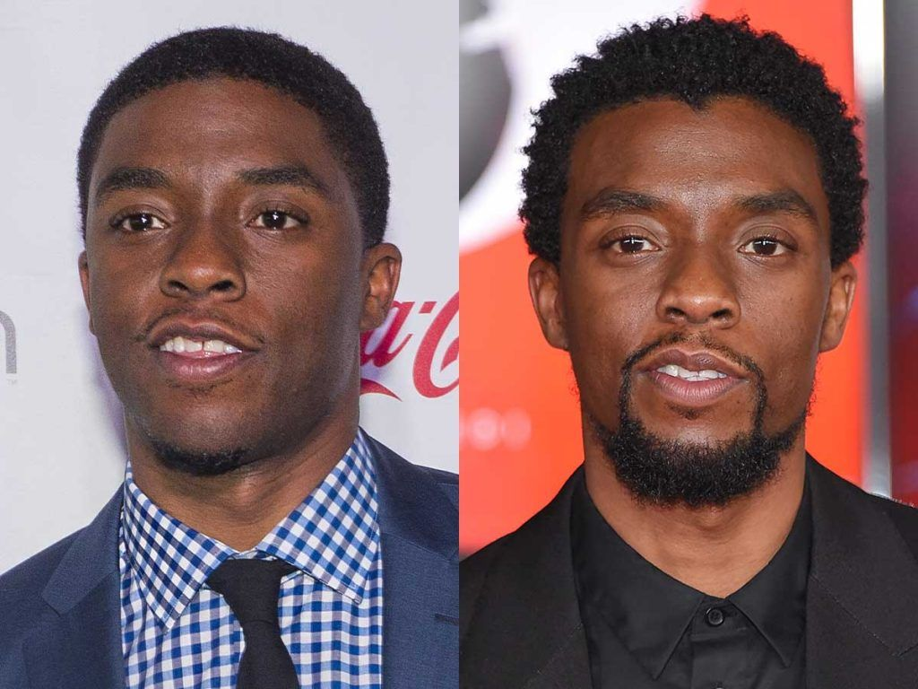 Chadwick Boseman Goatee #goatee #facialhair #beard #beardtranformation