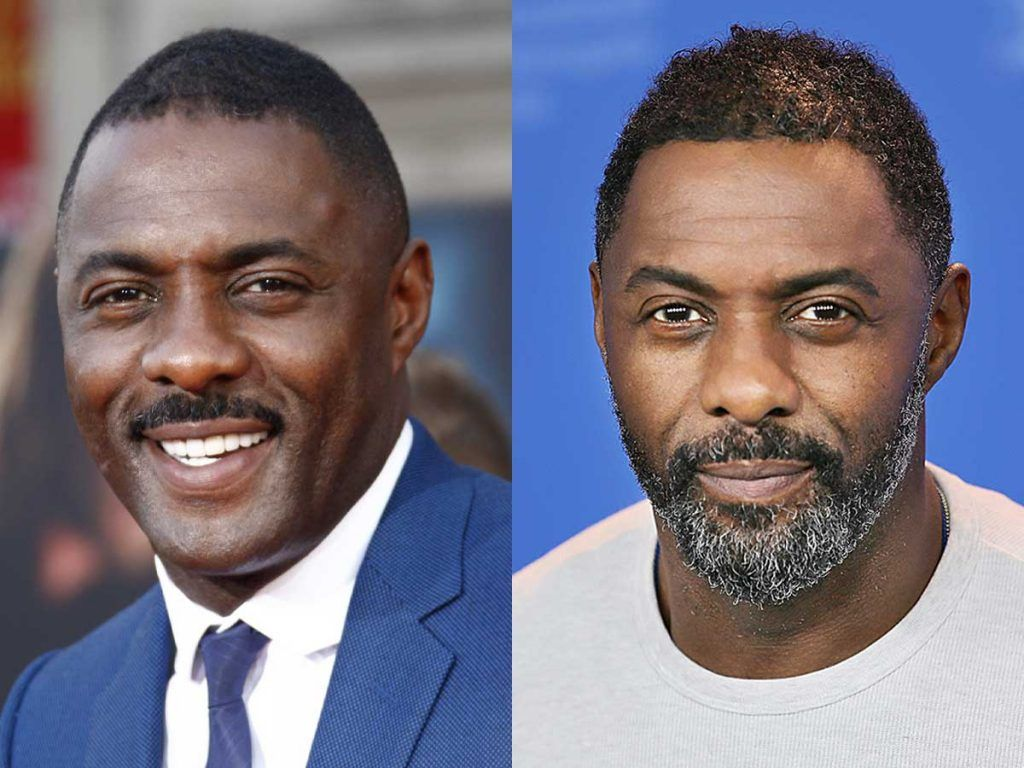 Idris Elba #facialhair #beard #beardtranformation