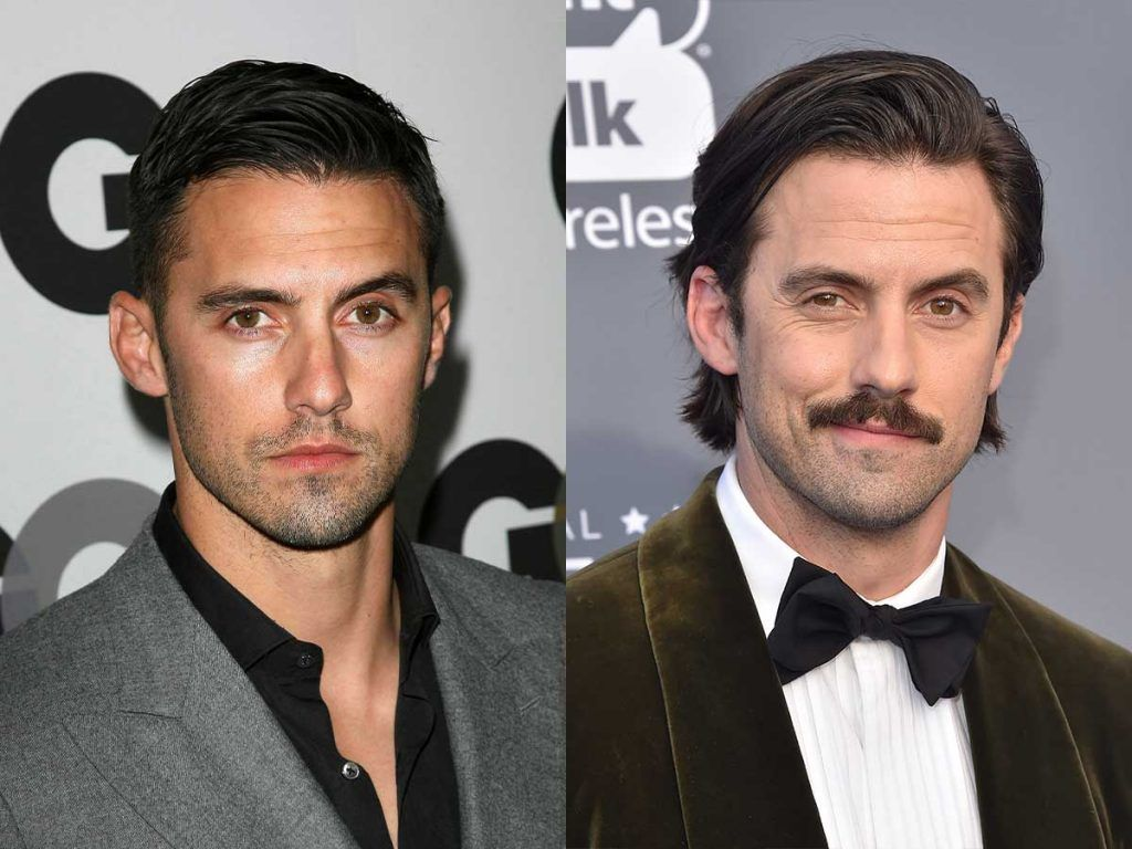 Milo Ventimiglia Facial Hair #mustache #facialhair #beard #beardtranformation