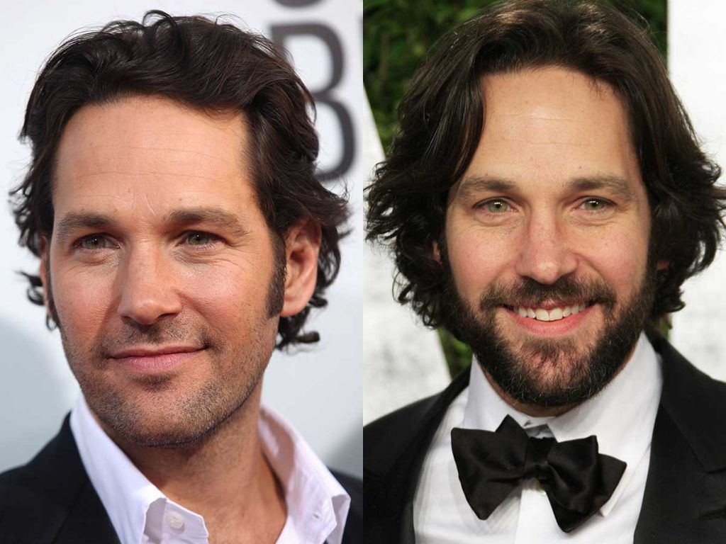 Paul Rudd #facialhair #beard #beardtranformation