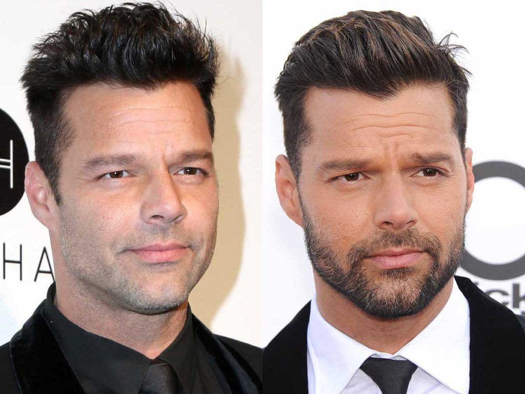 Ricky Martin Facial Hair Styles #facialhair #beard #beardtranformation