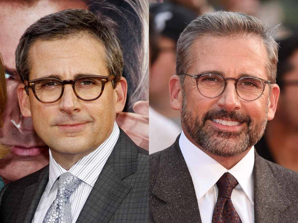 Steve Carell #facialhair #beard #beardtranformation