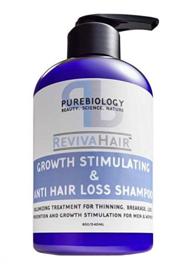 Pure Biology Hair Growth Stimulating Shampoo #hairlossshampoo