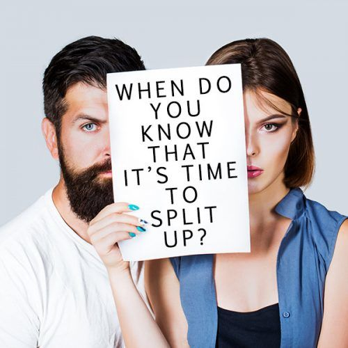 When Do You Know That It's High Time To Split Up? #lifestyle #howtobreakupwithsomeone #breakup