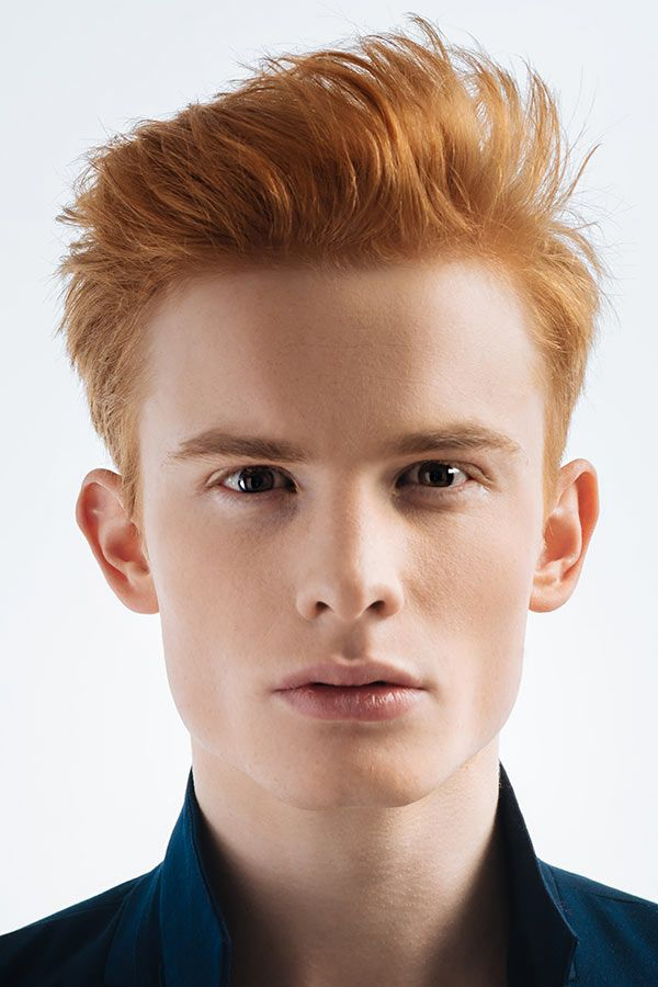 Wild Tousled Hairstyle #redhair #redhairmen